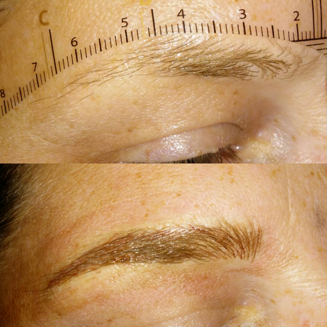 These Two Procedues offer both Brow Techniques combined for a shaded Brow depending on if you need more or less enhancement . Both Are Microbladed stroke ...